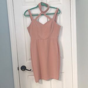 Blush Dress Size Medium EUC